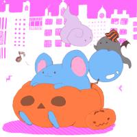 かぼちゃとマリル