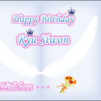 Happy Birth Day Ryu Siwon