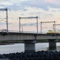 加古川橋梁 ドクターイエロー(2016.12.7)