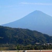 富士山 久しぶりに富士川サービスエリアで