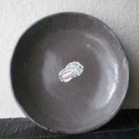白菜(転写紙)の中皿