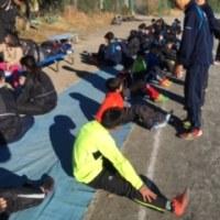 柏陽高校にてランニング教室