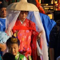 おにぎえ祭 御神幸行列 観光柳川水の精・古賀理紗 2016・10・9