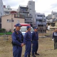 平成28年旭町防災訓練。