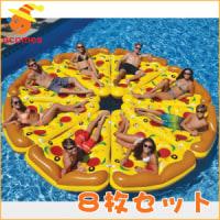 めざましテレビのイマドキで紹介された かじられドーナッツ浮き輪とピザフロートが大人気!