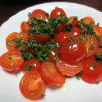 簡単料理  ミニトマトのマリネ☆