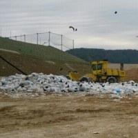 ゴミの埋め立て