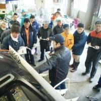 農業機械の整備研修会を開催しました。