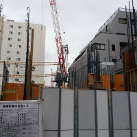 東京メトロ丸ノ内線 方南町駅工事(10月25日現在)