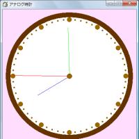 [HSP]アナログ時計のソース(1)