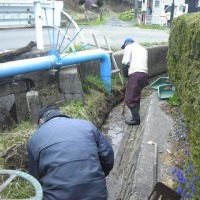 沢底農地水環境を守る会 取水口整備事業