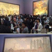 新国立美術館の「ミュシャ展」を観る。