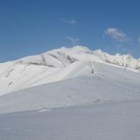 北アルプス 唐松岳 雪山講習登山