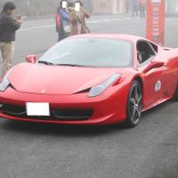 フェラーリ458イタリアの発進