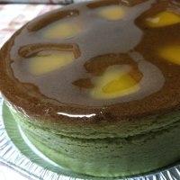 ローヌの抹茶チーズケーキ