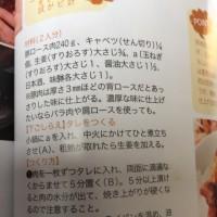 【レシピメモ】   生姜焼き