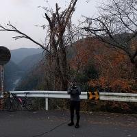 神明峠を越えて日吉ダムまで