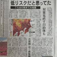 地震発生率は拡大していた