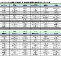 第3回こくみん共済U-12サッカーリーグ in 神奈川 (前期)  兼 第44回 横浜市春季少年サッカー大会 抽選結果