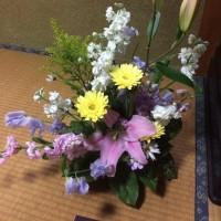 1周忌の供花を作成