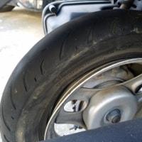 深谷市で原付スクーターの出張タイヤ交換に行ってきました