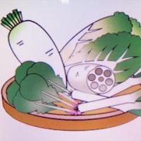 しなびた野菜