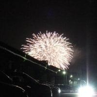 昨日の花火