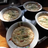 キャベツとエビのチーズ焼き・・・飯村直美料理教室