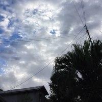 曇り空の沖永良部島