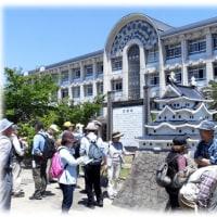 初夏の散策は…(^^♪美しく水に写る姿が「琴浦城」の名称で親しまれていた「尼崎城跡と寺町巡り」