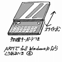 スマートフォンでフルwindows10が動作するなら、スマホはどういうデザインであるべきか