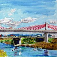 庄内川ー赤トンボ橋