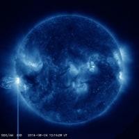 ■速報■ 少し大きめ中規模太陽フレア