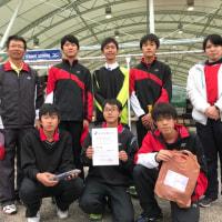 1/29岐南ドームの男子ミズノカップ(優勝)