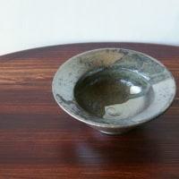 緑砂掛け流しリム小鉢