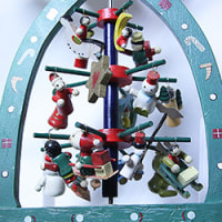 クリスマスピラミッドでクリスマス気分