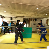 10/25火曜朝柔術の風景