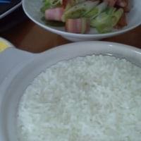 ダイソー250円土鍋で炊飯