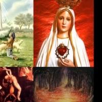 地獄について この無視された真理      ◆3、ファティマの聖母の祈り