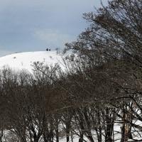 行きたかった雪山
