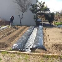 春ー夏ライン 増設工事開始。