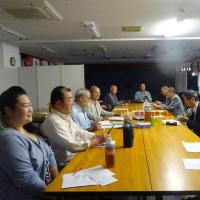 ◆全日本相撲甚句協会明年29年19回大会の初実行委員会開催。関東近隣の会代表・役員。