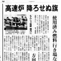 原子力村の非常識ー高速増殖炉を新設??