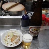 中華そば みたか『瓶ビール+チャーシュー+ラーメン大盛り』