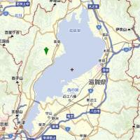 横山氏(5) 近江の中の「横山」の地図
