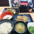 吉野家のディナー