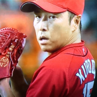 黒田さん最後の登板です。すんだら渡米して余生はアメリカかも。