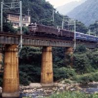 水上の鉄橋、30年前