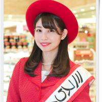 「ミスりんご あおもり」青森りんごキャンペーン in 東京ソラマチ