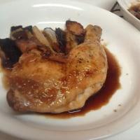 鶏を焼きました。